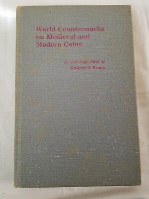 world countermark medieval & modern coins brunk hardcover out of print