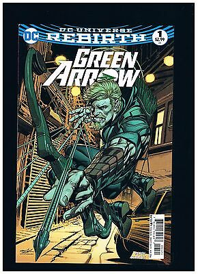 DC Green Arrow 2016 #1 Rebirth REGULAR SERIES NEIL ADAMS CVR NM NICE !DCEU