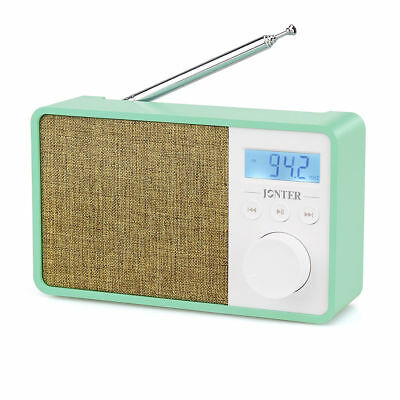 Hot Sale 5W Portable FM Radio WMA MP3 Player Bluetooth AUX input Built-inMIC+USB
