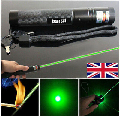 10mile Military Green 1MW 532NM Laser Pointer Pen Lazer Light Visible Beam Burn*