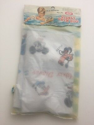1970s Disney IDEAL Inflatables Toy Pluto Donald Micky Mouse New Sealed  RARE!