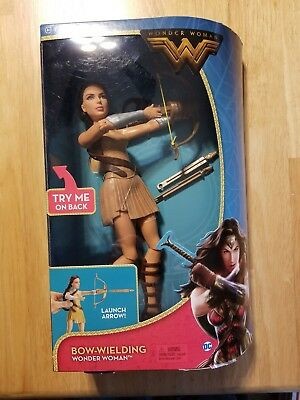 "DC Comics Wonder Woman Bow-Wielding Doll  Action  figure 12"" NEW!"
