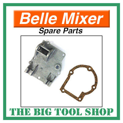 Belle Mixer Gearbox Back Plate & Gasket Kit For Minimix 140 & 150 *Genuine*