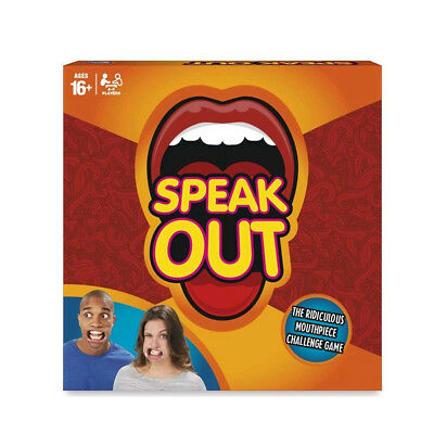 AU Speak Out Game Family Friendly Party Supplies Ridiculous Mouth Game Toy Funny