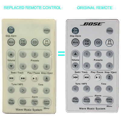 New Replace Remote for Bose Wave Music System AWRCC1 AWRCC2 Radio CD W Battery