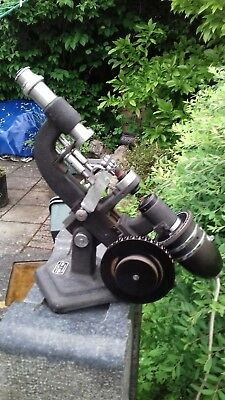 Vintage Optical Electric Lensometer Microscope Topcon