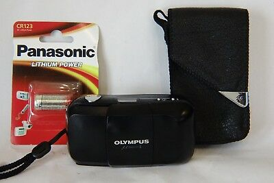 Olympus mju I (mju 1) Compact Film Camera - 35mm f3.5 Fixed Focal Length Lens