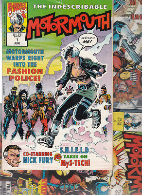 WARHEADS Nºs 1. 2. 3. 6. 7  ( LOTE  5  NUMEROS ) MARVEL UK. ORIGINAL EN INGLES.