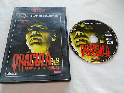 Dracula Principe De Las Tinieblas Christopher Lee Dvd + Extras Español English