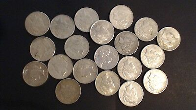 Roll Of 20 Peace 90% Silver Dollars $20.00 Face Value