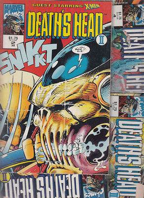 DEATH´S HEAD II Nºs.1. 2. 3. 4. 5 (LOTE 5 NUMEROS) MARVEL UK.ORIGINAL EN INGLES
