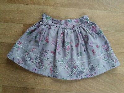 Benetton Baby Girls Floral Skirt Age 18-24 Months