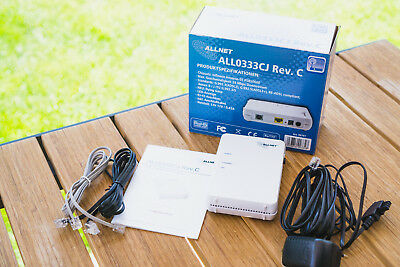DSL Modem: AllNet ALL0333CJ Rev.C ADSL/ADSL2+