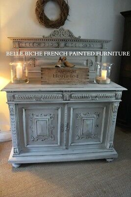 Handsomely Carved Antique C.19th French Buffet Sideboard