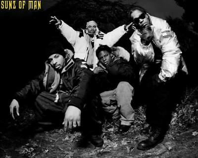 "MX02818 The Wu-Tang Clan - RZA Hip Hop Group Music 17""x14"" Poster"