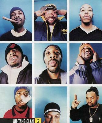 """MX02847 The Wu-Tang Clan - RZA Hip Hop Group Music 14""""x16"""" Poster"""