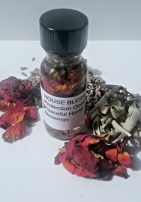 House Blessing Protection Oil Anointing Oil Remove Negativity Wicca Oils