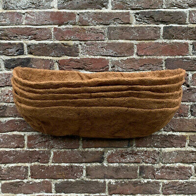 Selections Pack of 5 Extra Deep Coco Wall Planter Liner (60cm)