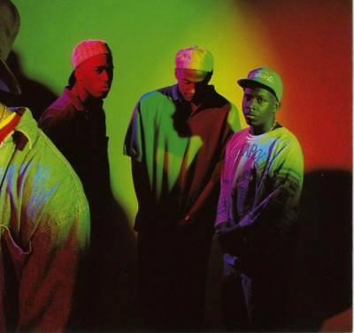 "MX03577 A Tribe Called Quest - American Hip Hop Q Tip MC Music 14""x14"" Poster"