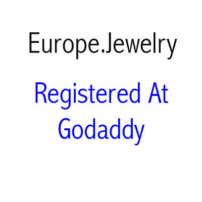 www.Europe.Jewelry Premium Domain Name For Sale