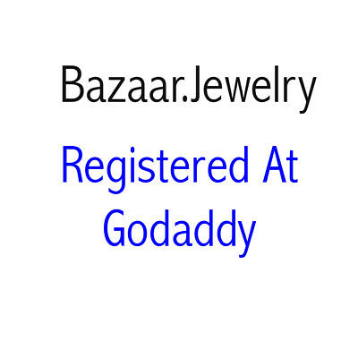 www.Bazaar.Jewelry Premium Domain Name For Sale
