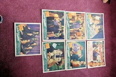"""7 Original Lobby Cards from """" Let's Get Tough"""" East Side Kids"""