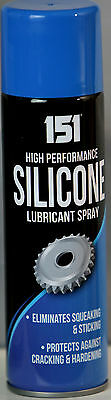 High Performance Silicone Lubricant Spray 200ml Eliminates Squeaking Sticking