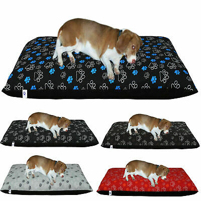 Boston Dog Bed Cover Printed Poly-Cotton Pet Supplies Medium Large Available UK,