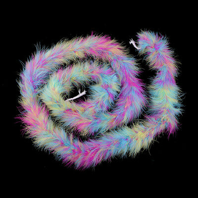 2 M Feather Strip Fluffy for Craft DIY Costume Wedding Party Decoration