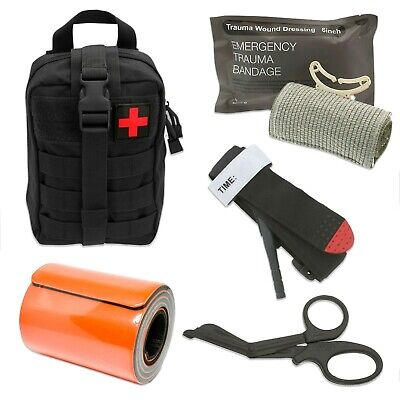 Tactical Medical Survival Tool Kit - Ideal Kit for Military, EMT, Firefighter