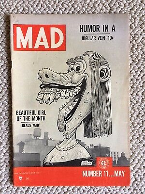 MAD Magazine #11 1954 Basil Wolverton cover