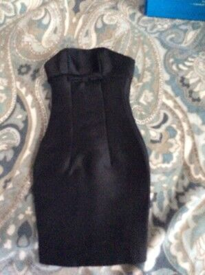 Tonner Tyler Wentworth RTW Boutique Black Strapless Fitted Dress