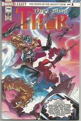 The Mighty Thor #700 : Marvel Comics : December 2017