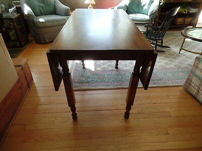 ANTIQUE DROP LEAF Kitchen Table - $15.00 | PicClick