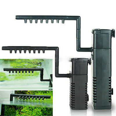 300/500L Internal Fish Tank Aquarium Filter Submersible with Spray Bar Included