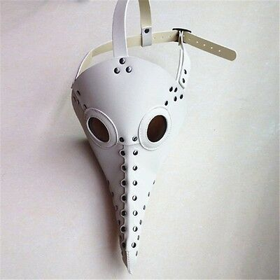 The Plague Doctor Steampunk Vintage Gothic Party Mask Halloween Custome Cool
