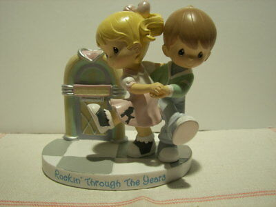 """Precious Moments ~ """"Rockin' Through The Years"""" ~ Fab Fifties Collection ~ #4924"""