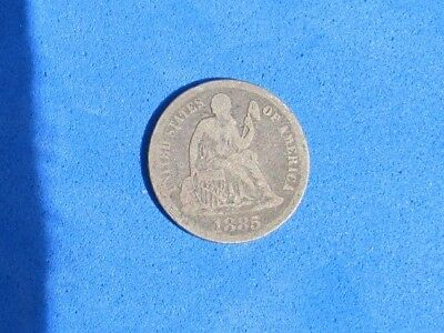 Nice 1885 Seated Liberty Dime !!!NICE