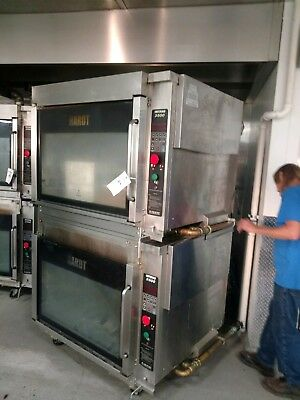 Hardt Inferno 3500 Gas Rotisserie (2) Double Stack Oven