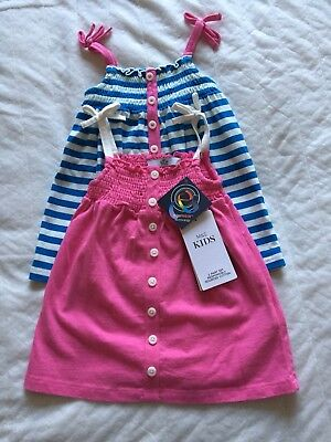 Marks And Spencer Two Pack Sundress Age 6-9 Months BNWT