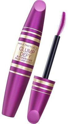 MAX FACTOR CLUMP DEFY Extension Mascara BLACK 13,1ml False Lash Effect & NEU