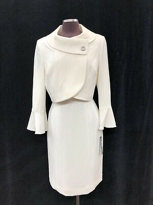 "Tahari By Arthur Levine/dress Suit/size 14/length 40""/lined/retail$280/new  Tag"
