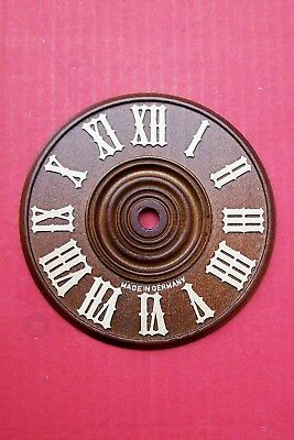 Dials for cuckoo clocks,  genuine all wood Black Forest made,  sizes  6 - 15 cm