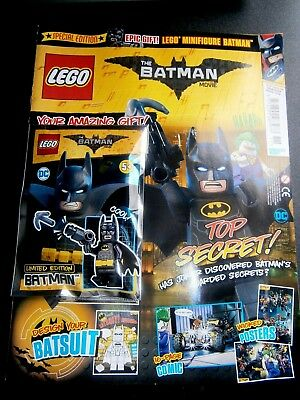 Lego The Batman Movie Comic Special Edition 3 With Gift (new) 2018