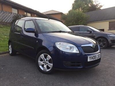 2008 skoda roomster 1.6 petrol automatic