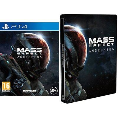 Playstation 4-MASS EFFECT ANDROMEDA  (UK IMPORT)  GAME NEW