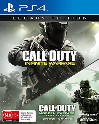 Ps4-Call Of Duty: Infinite Warfare - Legacy Edition [Aus]  (UK IMPORT)  GAME NEW