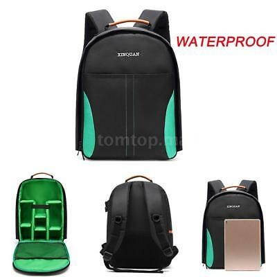 Waterproof DV DSLR SLR Camera Backpack Shoulder Bag Case For Canon Nicon Sony