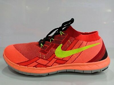 e781617d6531 Nike Barefoot Ride Running Flyknit Free 3.0 Men Athletic Running Shoes  Size11
