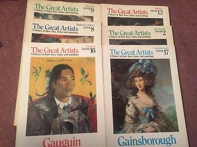 Lot 18 The Great Artists A Library of Their Times & Paintings Art History Study